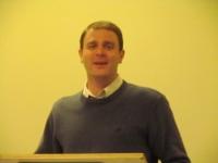 Rev. Ben Bruce teaching